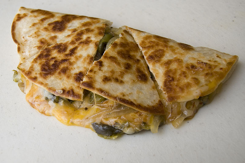 Honduran Quesadillas